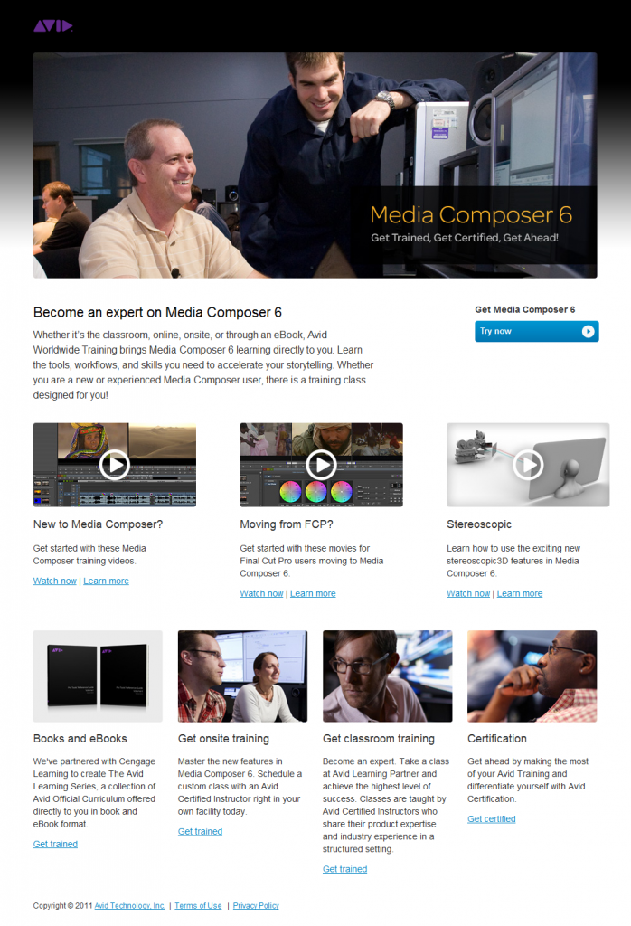 Become an expert on Media Composer 6